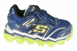 SKECHERS Skech Air navy/lime Toddlers Running Shoes 05.0