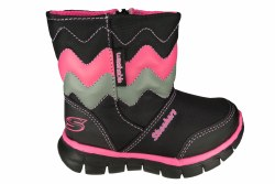 SKECHERS Synergy-Wavy Days black/multi Toddlers Boots 05.0