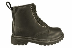 SKECHERS Welder-Galvin black Little Kid's Boots 3