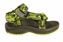 TEVA Hurricane 2 camo/green Toddlers River Sandals 04