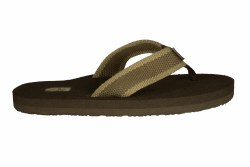 TEVA Mush II beach brown Men's Flip-Flop Sandals 07
