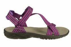 TEVA Zirra native stripes purple Little Kids Water Sandals 011