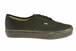 VANS Authentic black/black Unisex Skate Shoes 15.0