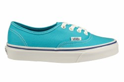 VANS Authentic cyan blue/true white Unisex Skate Shoes
