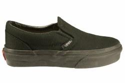 VANS Classic Slip-On black/black Little Kid's Skate Shoes 013