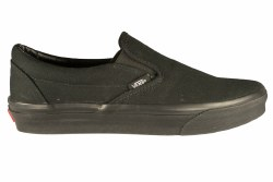 VANS Classic Slip-On black/black Unisex Skate Shoes 04.0