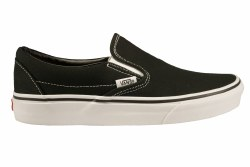 VANS Classic Slip-On black Unisex Skate Shoes 04.0
