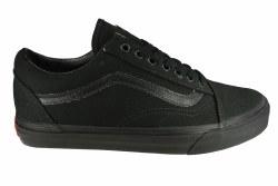 VANS Old Skool black/black Unisex Skate Shoes 08.0