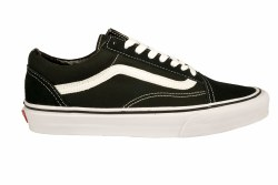 VANS Old Skool black/white Unisex Skate Shoes 04.5