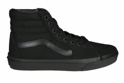 VANS Sk8-Hi black/black/black Unisex Skate Shoes 07.0