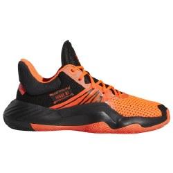 Adidas Jrs. D.O.N. Issue 1 Black Solar Red Black 5.0