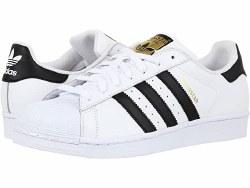 Adidas Superstar Mens White Black White 09.5