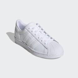 Adidas Superstars Mens White White White 09.0