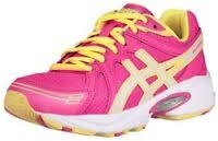 Asics Exite GS Hot Pink/White/Sun Yellow Big Kids Running Shoes C306N-35016.0