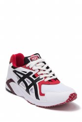 Asics -Gel DS Trainer White Black Red ASICSTIGER Balance, speed , and stability colide in this classic asics tiger