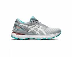 Asics Gel Nimbus 22 Sheet Rock Womens Running Shoes 09.5