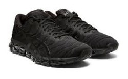 Asics Gel Quantom 360 series 5 Black Black 1021A113-002  extra bouncy and remarkably comfortable featuring TRUSSTIC SYSTEM Technology09.0