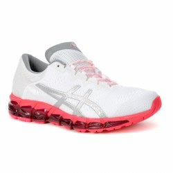 Asics womens running shoes Gel Quantum 360 5 JCQ White silver pink red09.0
