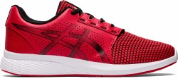 Asics Gel Torrance 2 Red Black Knit Mesh Upper , Durable rubber outsoles , Gel Tech in the heel, super lightweight and extremely comfortable 09.5