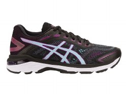 Asics GT-2000-7-Black Skylight Womens Running Shoes Overpronation/Stability09.0