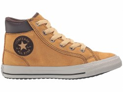 Coverse All Star Boots    Wheat Birch Bark Suede Leather013.
