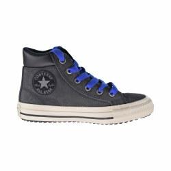 Converse All Star Boots Black Blue 012.