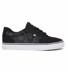 DC Anvil black/black Mens Skate Shoes 08.0