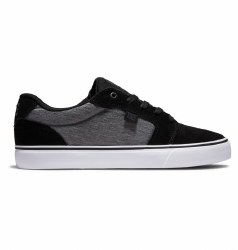 DC Anvil Dark Grey Black White  Iconic Style From DC Shoes  07.0