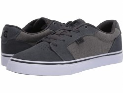 DC Anvil SE Grey Black Black Drop Clean Classic Skate Style From DC Low Profile08.0