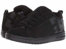 DC Court Graffik SE Black Black Youth Size Classic DC1.0