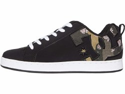 DC Court Graffik Womens Black Camo07.0