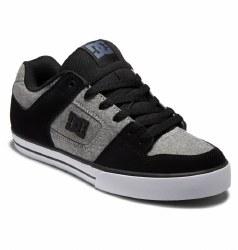 DC Mens Skate Shoes The Pure  Dark Grey Battleship   Classic Classic Classic 07.5