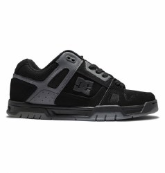 DC Stag Black Charcoal  Classic DC Skate Style 09.5