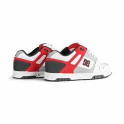 DC Stag White Grey Red , Iconic DC Style10.5