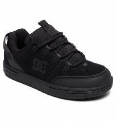 DC Syntax Blk Blk Blk Boys Skate Shoes From Iconic Skate Brand DC4.5