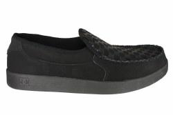 DC Villian Slip on black out skate shoes 08.0