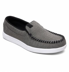 DC Villian TX SE Grey White Grey Classic Slip on from DC Shoes 07