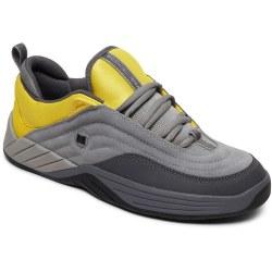 DC Mens Skate Williams Slim Grey Yellow09.0