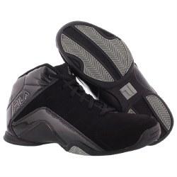 Fila Mens Basketball Epic Reign Black Black Silver08.5