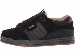 Globe Mens Fusion Skate Shoe Black Carbon Fibre09.5
