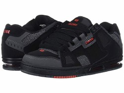 Globe Sabre Black 3M Pebble triple stiched top of the line Globe Skate Shoes , Durable and Skatable Stylish Skate Shoes 09.0