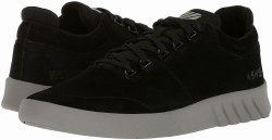 Kswiss Aero Trainer Suede Black Charcoal Classic Kswiss Style09.0