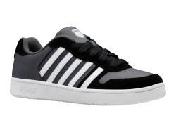 Kswiss Court Palisades Black Charcoal White Classic Kswiss Style08.5
