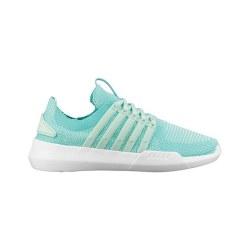 Kswiss Gen-K Manifesto Knit Dusty Aqua Pool Blue Womens Running shoes07.0