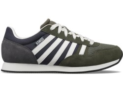 Kswiss Mens Retro Running Shoes Classic Kswiss Style 08.5