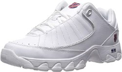 Kswiss ST529 White Navy Red  classic Kswiss Comfort and Style08.5