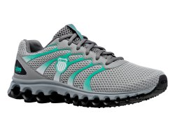 Kswiss Tubes comfort 200 Highrise Neon Teal Black Womens Running Shoes 07.0