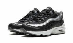 Nike Air Max 95 Y2K Black Metallic Silver  4.5