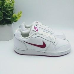 Nikes Womens Classic Court Shoes Ebernon White Violet . Classics , Retro  Nike 06.0
