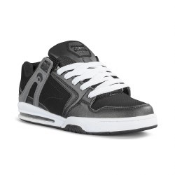 Osiris PXL Black White Bold Looking Fully Cushioned Iconic Skate Style from Osiris5.0